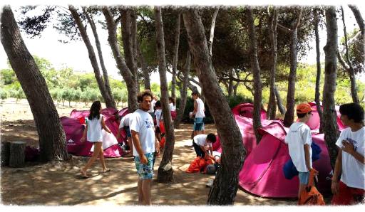campi estivi palermo sicilia campeggio avventura