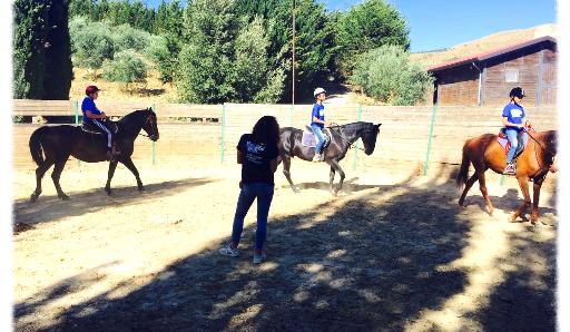 campi estivi palermo sicilia equitazione tondino avventura