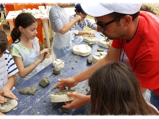 gite scolastiche juniorland sicilia laboratorio argilla