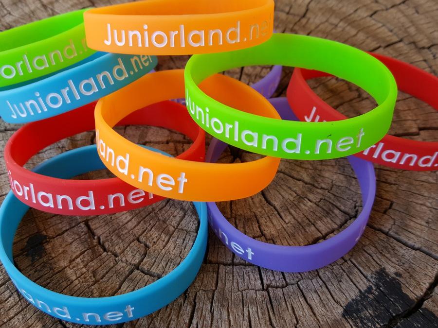 braccialetti silicone juniorland