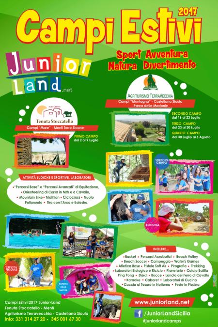 campi estivi sicilia 2017 juniorland