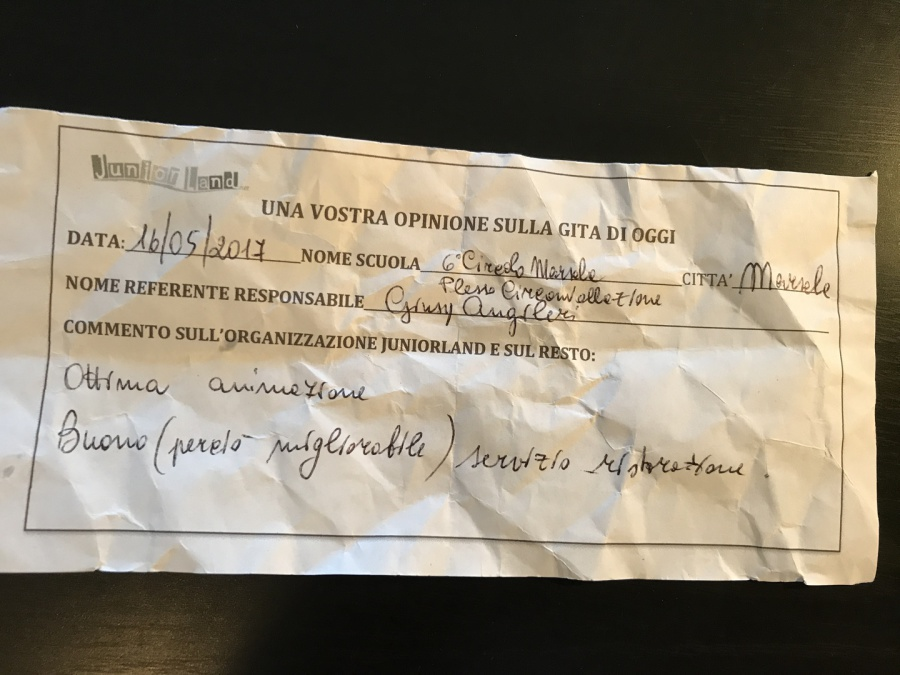 gite juniorland 2017 in sicilia commenti