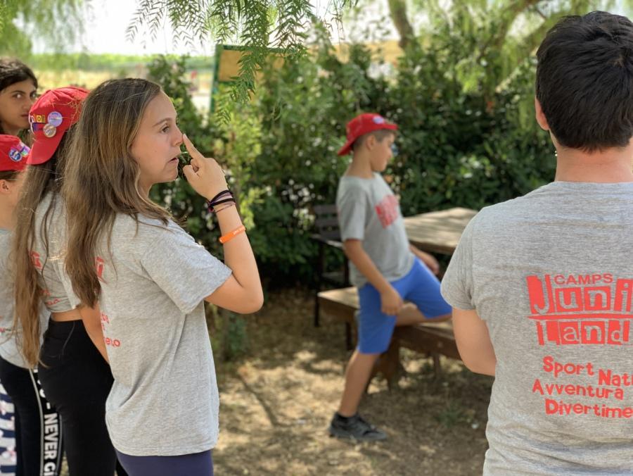 campi estivi Sicilia juniorland john peter Sloan la scuola