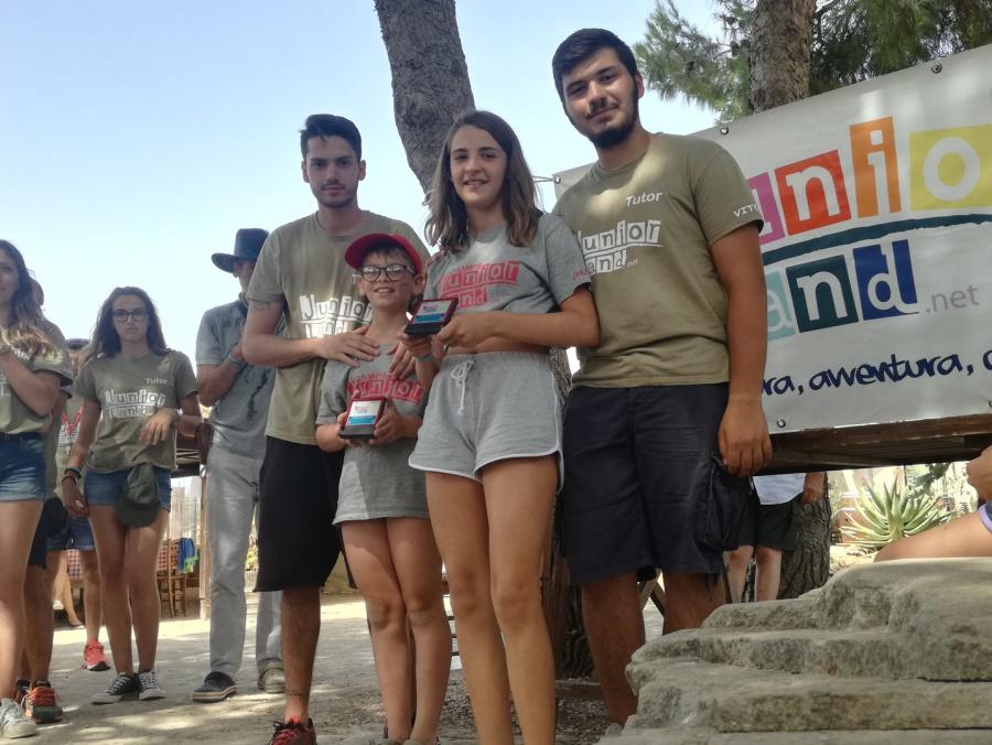 campi estivi Sicilia juniorland premiazioni 2