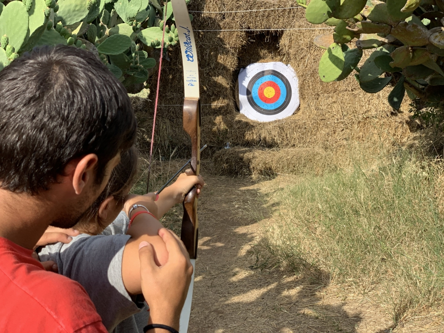 campi estivi Sicilia juniorlamd tiro con arco