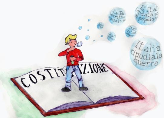 la costituzione spiegata da juniorland